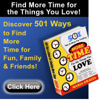 Discover 501 Ways to Find More Time for Fun, Family & Friends! Click Here Find More Time for the Things You Love!