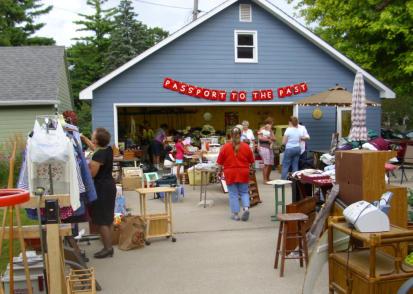 The garage sale