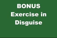 BONUS Exercise in Disguise
